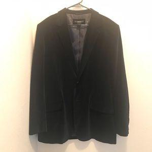 Men's CLAIBORNE velvet blazer